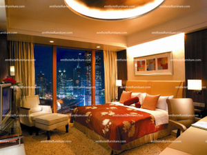 Pudong Shangri-La Hotel Bedroom Furniture، Manufacturer Furniture